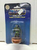 "Mattel Masters of the Universe He-Man Stamper Series 1 KOBRA KHAN 2.5"" MOC, 1985"