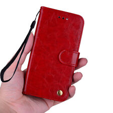 Classic Flip Premiun Highlights Leather Wallet Slots Strap Stand Cover Case