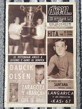 1966 Costa del Sol torneo final Benfica v Tottenham Hotspurs (diario)