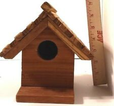 Handmade Cedar Bird House
