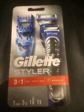 Gillette Fusion ProGlide Styler 3 en 1 Hoja De Afeitar Barba Afeitado Recorte Ribete