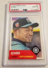 2018 Topps Living #25 Ichiro Suzuki Card Graded PSA 10 Gem Mint Sold Out 10,713