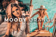 Moody naranja, 4 Presets Premium Lightroom móvil