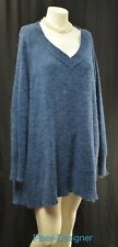 Linea by Louis Dell'Olio 3X fuzzy shaggy Sweater long Sleeves jumper pullover