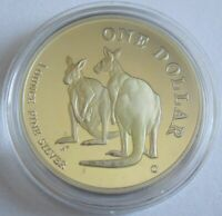 Australien 1 Dollar 1999 Kangaroo / Känguru 1 Oz Silber PP