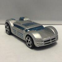 Hot Wheels Silver Dodge Super 8 HEMI 1:64 Scale Diecast Toy Car Model Mattel