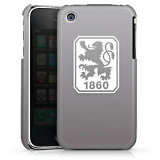 Apple iPhone 3Gs Premium Case Cover - 1860 grau