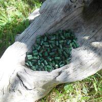 900 Perles Bois Tube - Vert