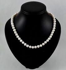 Markenlose Halsketten und Anhänger im Collier-Stil mit Perlen aus Zucht
