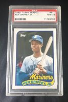 1989 Topps Traded #41T Ken Griffey Jr. Seattle Mariners RC Rookie HOF PSA 9 MINT