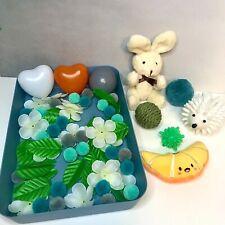 APH African Pygmy Hedgehog Forage Tray Pom Poms Balls teddy toys flaxseed