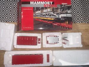 Rare NZG 1.50 Mammoet SPMT 6+4 with power pack Heavy Haulage code 3 Mint