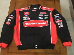 Vintage Nascar Kurt Busch Rubbermaid  Jacket NWT XXL Ford Winston Cup Sharpie