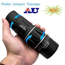 AU Pocket Compact Monocular Telescope 16X52 HD Camping Hunting Sports Hiking