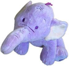 "Disney Winnie Pooh 12"" Lumpy Purple Heffalump Elephant Plush Soft Stuffed Usa"