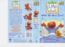SESAME STREET ~WAKE UP WITH ELMO   ABC~ VIDEO PAL VHS