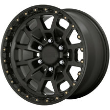 "4-KMC KM718 Summit 17x8.5 6x5.5"" +18mm Satin Black Wheels Rims 17"" Inch"