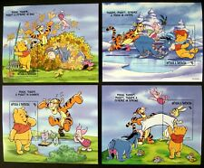 1998 MNH DISNEY ANTIGUA & BARBUDA WINNIE THE POOH STAMPS SOUVENIR SHEETS TIGGER