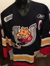 SIZE56 Hockey REEBOK OHL Jersey BARRIE COLTS #44 BJ CROMBEEN GAME WORN