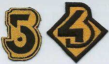 B5  Babylon 5 Embroidered Iron-On Patch Set - B5 & B4