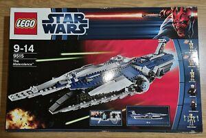 LEGO Star Wars The Malevolence - 9515, factory sealed genunie