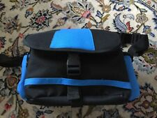 SLR Camera Bag Carry Case Black & Blue