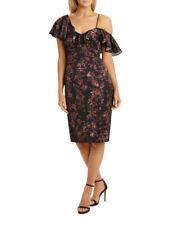 NEW Wayne Cooper Events Vine Garden One Shoulder Frill Dress Assorted