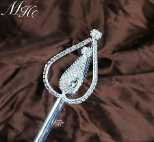 Classical Beauty Contest Pageant Magic Fairy Scepter Wand Costumes Accessories