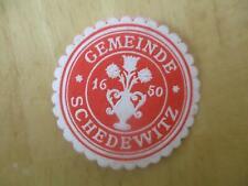 (32994) Siegelmarke - Gemeinde Schedewitz