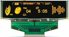 Univision 2.96in Yellow Passive matrix OLED Display 256 x 64pixels SPI Interface