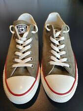 Ladies Khaki Converse All Star Low Top Pumps Trainers UK Size 6 Worn Once