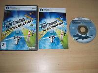 Flight Simulator X ACCELERATION Pc DVD Rom Add-On Flight Simulator Sim X FSX FS