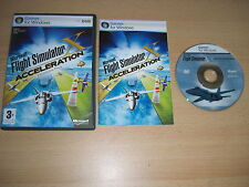 Flight Simulator X ACCELERATION Pc DVD Add-On Microsoft Flight Simulator Sim FSX