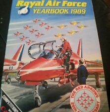 Royal Air Force Yearbook 1989 UK AVIATION RED ARROWS 25TH