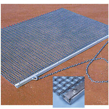 Heavy Duty Drag Mat - 6'6''W x 4'L Baseball Field Maintenance