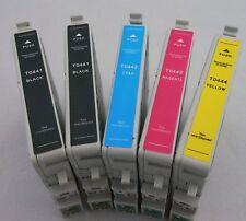 T0441 - T0444 Ink Cartridge for Epson Stylus C86 84 66 CX6600 6400 4600 3600-5Pk