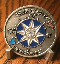 US Coast Guard Station Rockland, Maien Guardians of Penobscot Bay Challenge Coin