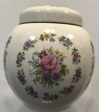 Vintage Lidded Jar by Sadler