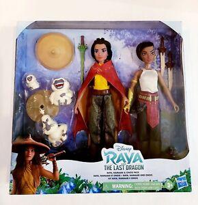 Disney's Raya and The Last Dragon Raya Namari and Ongis Figure Pack