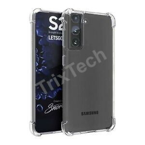 Case For Samsung S21 Ultra S20 Plus S10 S9 Bumper Silicone Gel Shockproof Cover