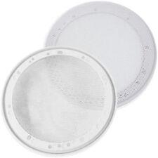 1 Paar Weisse Lautsprecher Abdeckungen Gitter Lautsprechergitter 16 5cm