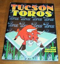 VINTAGE 1997 TUCSON TOROS BASEBALL PROGRAM  - MILWAUKEE BREWERS AFFILIATE
