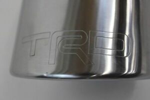 Genuine Toyota 2007-2014 FJ Cruiser TRD Performance Cat-Back Exhaust PTR31-35070