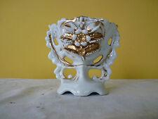Vase de mariée porcelaine de PARIS doré à l'or XIX è NAPIII