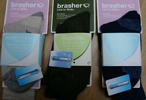 Brasher Trekking socks men's women's Coolmax For cool & dry feet Hiking Trekking