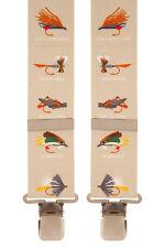 Para Hombre Novedad tirantes (Volar Pescador) #062