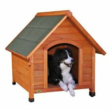 """Trixie Natura Pitched Roof Dog House, 30.25"""" L X 32.25"""" W X 34.5"""" H, Medium"""