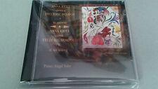 """ANNA RICCI """"CANTA A FREDERIC MOMPOU Y SU ENTORNO"""" CD 26 TRACKS ANGEL SOLER"""