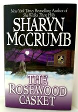 THE ROSEWOOD CASKET Sharyn McCrumb AUTHOR-SIGNED Dust Jacket 1ST Ed Very Good