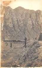 Fajardo Coronel Cacheuta Puente Bridge Real Photo Antique Postcard K78649